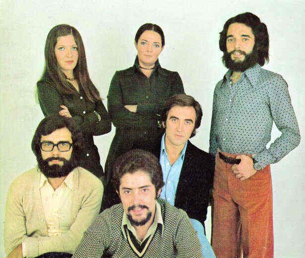 El grupo musical español Mocedades. Fuente: http://www.paraules.org/mocedades.html
