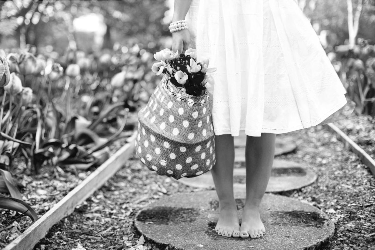 Con los pies descalzos